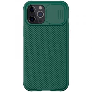 iPhone 12 Pro Max-CamShield Pro Case-Deep Green