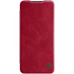 Galaxy A21s-Qin Leather Case-Red