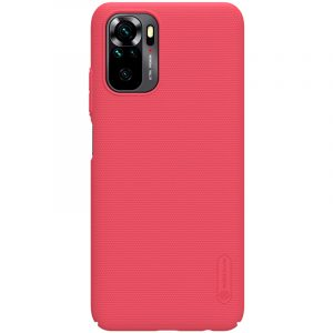 Redmi Note 10 4G/Note 10S-Super Frosted Shield-Bright Red