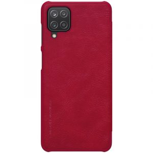 Galaxy A51-Qin Leather Case-Red
